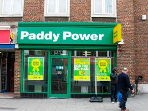 betting shop Paddy Power